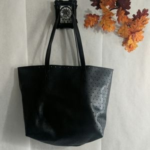 Lightweight easy tote Synthetic leather